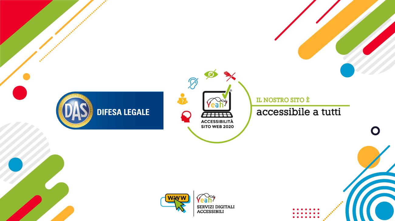 DAS ottiene la certificazione di accessibilità al proprio sito internet