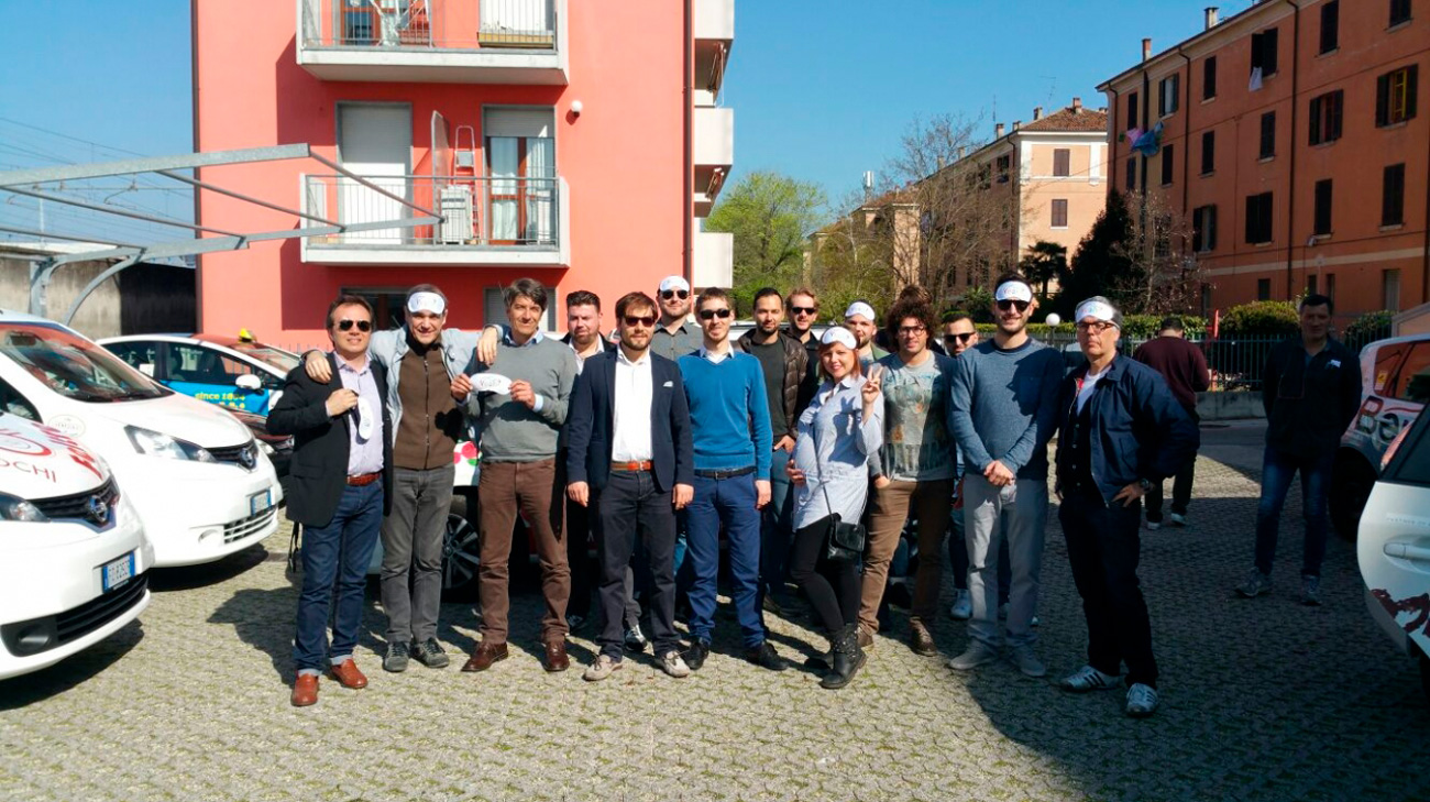 Radiotaxi Verona al corso di formazione di Yeah