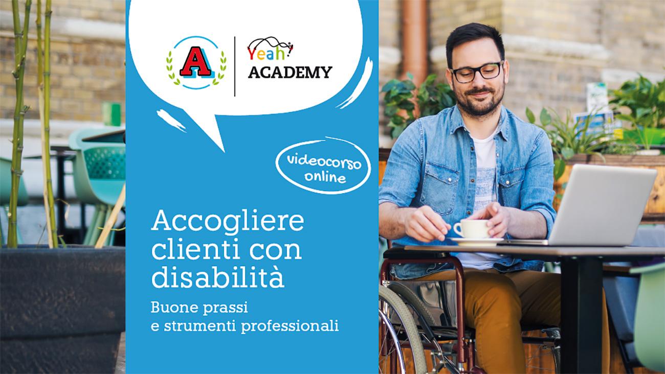 Corso formativo online Accogliere clienti con disabilità – Buone prassi e strumenti professionali