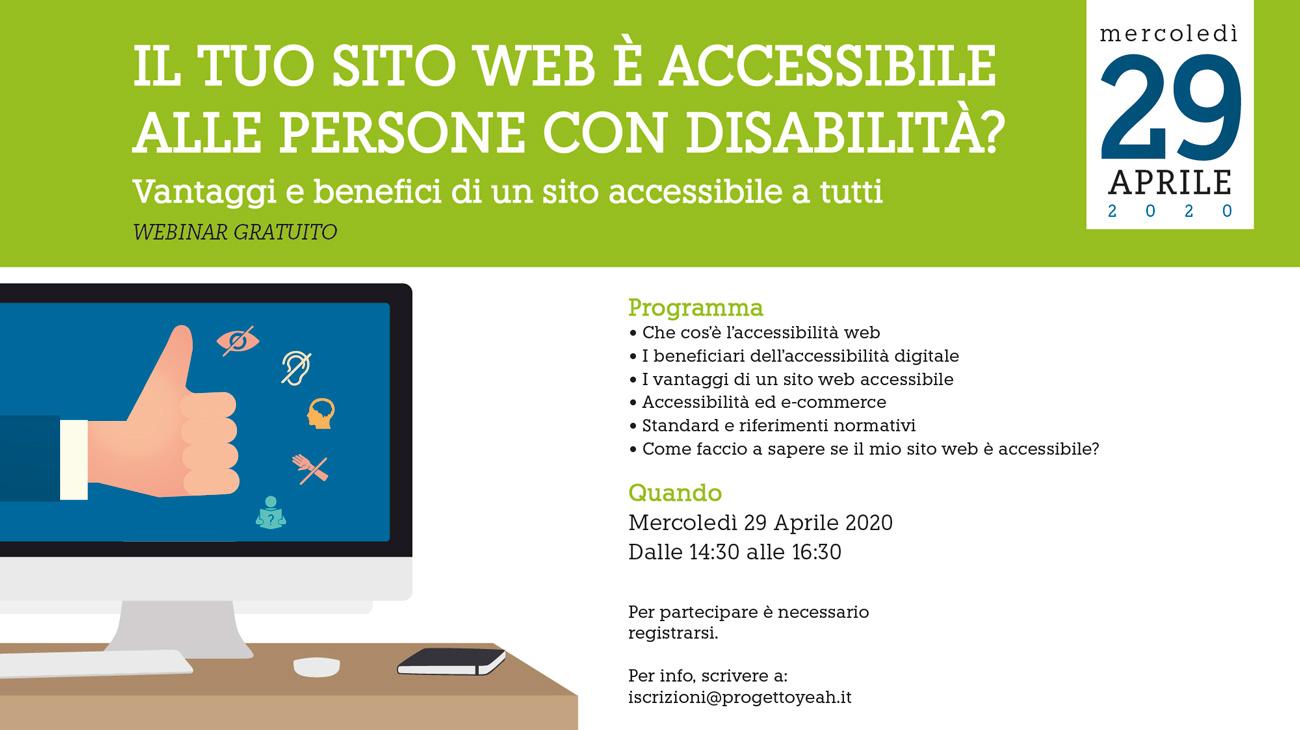 """Il tuo sito web è accessibile alle persone con disabilità? Vantaggi e benefici di un sito web accessibile a TUTTI"""""""