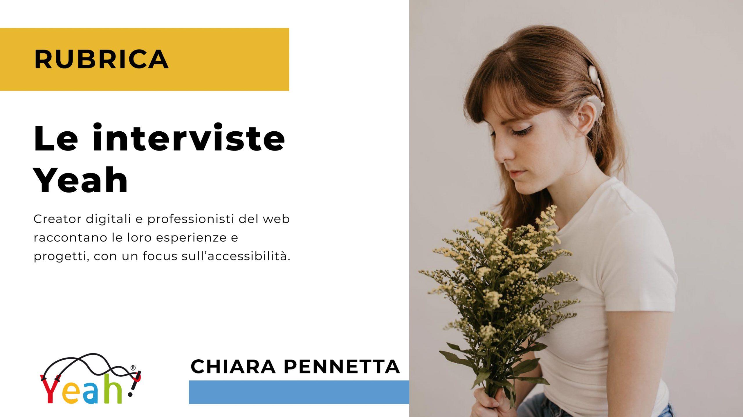 Le interviste Yeah: Chiara Pennetta